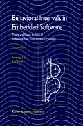 Behavioral Intervals in Embedded Software: Timing and Power Analysis of Embedded Real-Time Software Processes