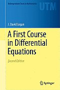 First Course in Differential Equations (2ND 11 Edition)