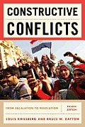 Constructive Conflicts From Escalation to Resolution 4th Edition