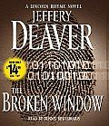 The Broken Window (Lincoln Rhyme Novels) (Abridged) Cover