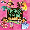 Dora's 10 Best Adventures (Dora the Explorer) Cover