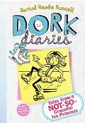 Dork Diaries #04: Tales from a Not-So-Graceful Ice Princess Cover