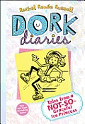 Dork Diaries 4: Tales from a Not-So-Graceful Ice Princess Cover