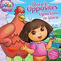 Dora's Opposites/Opuestos de Dora (Dora the Explorer) Cover