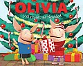 Olivia y el Regalo de Navidad = Olivia and the Christmas Present (Olivia) Cover