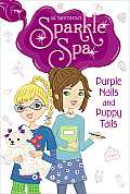 Sparkle Spa #02: Purple Nails and Puppy Tails