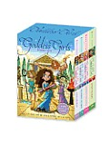 Goddess Girls Boxed Set with Charm Bracelet Athena the Brave Persephone the Phony Aphrodite the Beauty Artemis the Brave