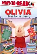Olivia Goes to the Library (Olivia TV Tie-In)