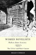 women novelists before jane austen  the critics and their canons cover