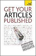 Teach Yourself Get Your Articles Published