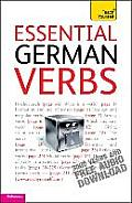 Essential German Verbs A Teach Yourself Guide