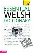 Essential Welsh Dictionary: Teach Yourself: Welsh-english - English-welsh
