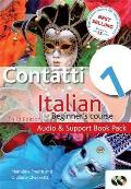 Contatti 1 Italian Beginner's Course 3rd Edition: Audio and Support Book Pack