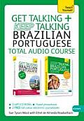 Teach Yourself Language #1: Get Talking/Keep Talking Brazilian Portuguese: A Teach Yourself Audio Pack