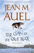 The Clan of the Cave Bear. Jean M. Auel Cover