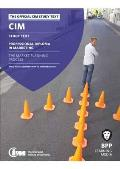 Cim - 5 the Market Planning Process: Study Text