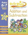 Gold Stars KS1 Addition and Subtraction Workbook Age 6-8
