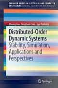 Distributed-Order Dynamic Systems: Stability, Simulation, Applications and Perspectives (Springerbriefs in Electrical and Computer Engineering / Spri) Cover