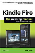 Kindle Fire: The Missing Manual Cover
