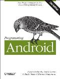Programming Android: Java Programming for the New Generation of Mobile Devices Cover