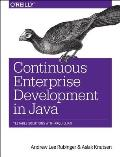 Continuous Enterprise Development in Java Cover