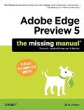 Adobe Edge Preview 5; the missing manual
