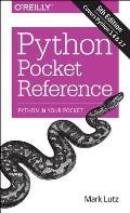 Python Pocket Reference 5th Edition