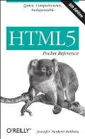 HTML5 Pocket Reference (Pocket Reference)