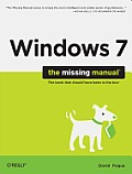 Windows 7: The Missing Manual Cover