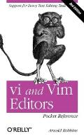 vi & Vim Editors Pocket Reference 2nd Edition