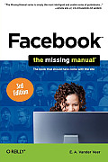 Facebook The Missing Manual 3rd Edition