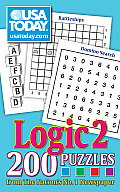 USA Today Logic 2: 200 Puzzles from the Nation's No. 1 Newspaper Cover