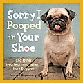 Sorry I Pooped in Your Shoe: (And Other Heartwarming Letters from Doggie) Cover