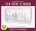 Cartoons from the New Yorker 2013 Day-To-Day Calendar Cover