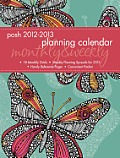 Cal13 Posh Butterfly Monthly Weekly Planner Calendar