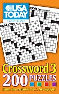 USA Today Crosswords #03: USA Today Crossword 3: 200 Puzzles from the Nation's No. 1 Newspaper Cover