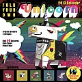 Cal13 Fold Your Own Unicorn Wall Calendar