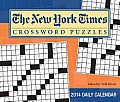 Cal14 New York Times Crossword Puzzles Day to Day 2014