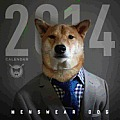Menswear Dog Calendar