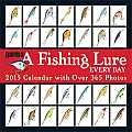 A Fishing Lure Every Day Wall Calendar: With Over 365 Photos