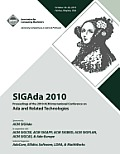 Sigada 10 Proceedings of 2010 ACM International Conference on ADA Cover