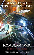 Star Trek: Enterprise: The Romulan War: To Brave the Storm (Star Trek: Enterprise) Cover