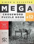 Simon & Schuster Mega Crossword Puzzle Book #12 Cover