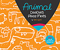 Animal Party Doodles Place Mats