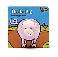 Little Pig Finger Puppet Book Cover