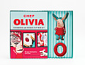Chef Olivia Cookbook and Cookie Cutters Kit [With Cookie Cutters]