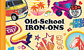 Old School Iron Ons