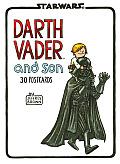 Darth Vader & Son Postcard Book