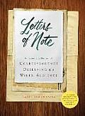 Letters of Note An Eclectic Collection of Correspondence Deserving of a Wider Audience