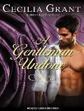 A Gentleman Undone (Blackshear Family) Cover